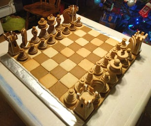 Gingerbread Chess Set