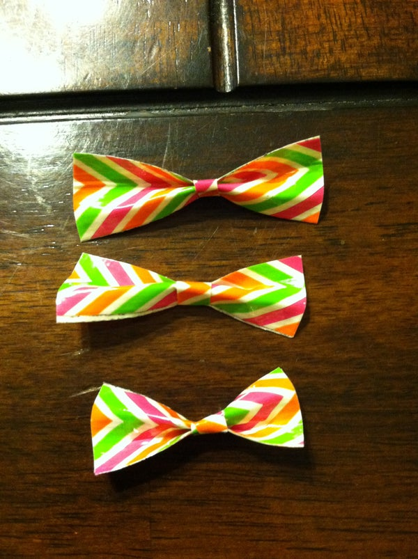 Duck Tape Bows