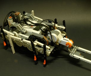 How to Build a Lego Mindstorms NXT OCTOPOD Robot?