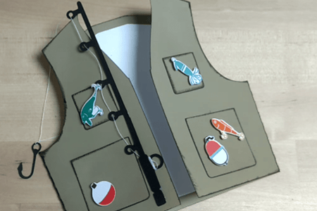 Download Fisherman Vest Card 5 Steps With Pictures Instructables