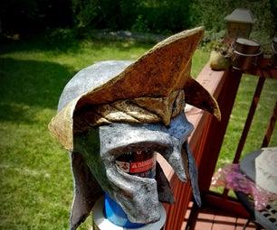 Paper Mache Helmet