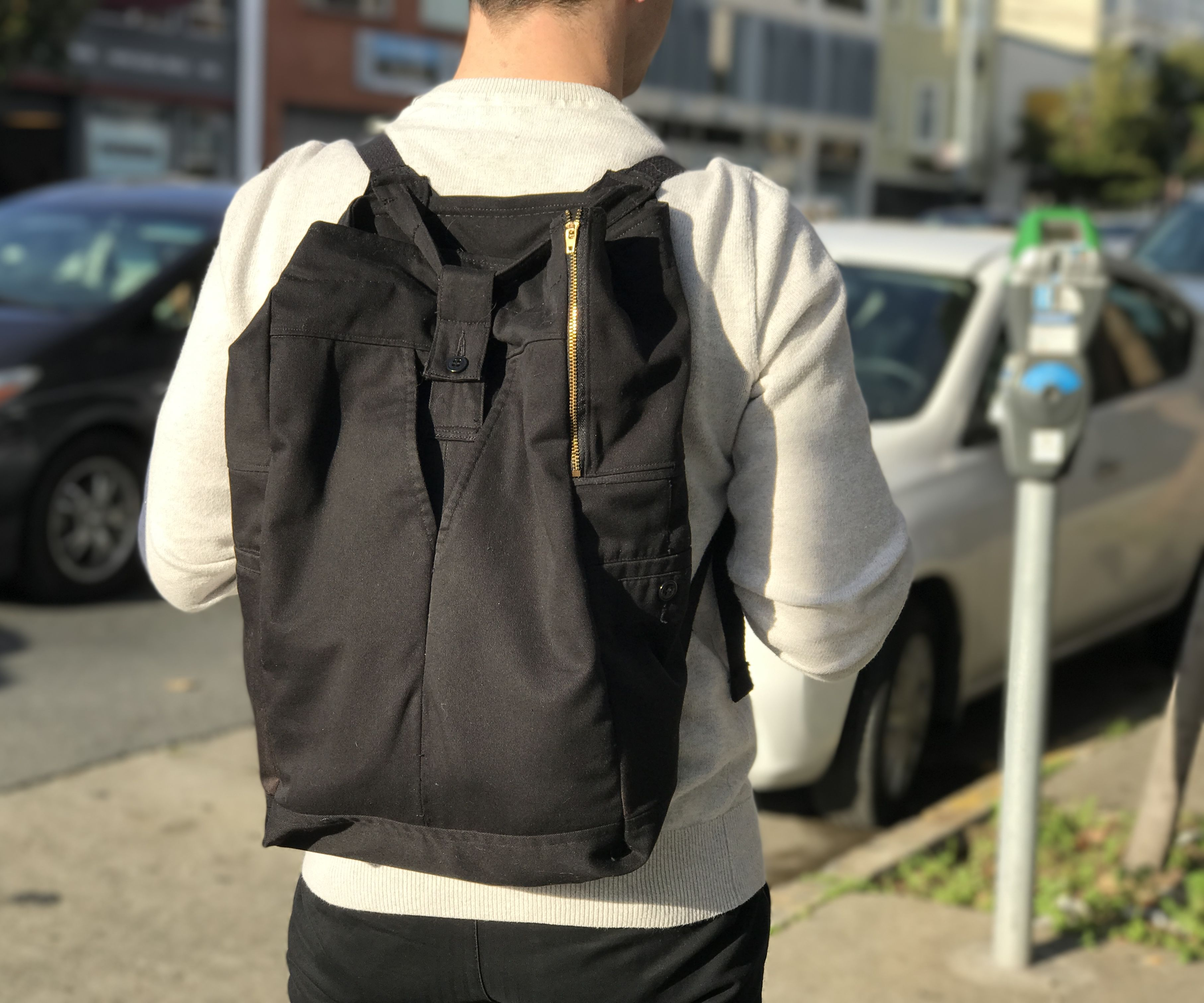 Make a Backpack Out of Old Pants