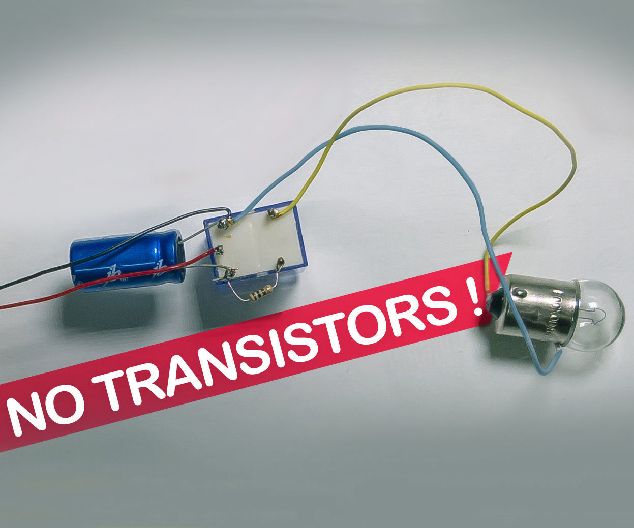 Light Bulb Flasher Without Transistors