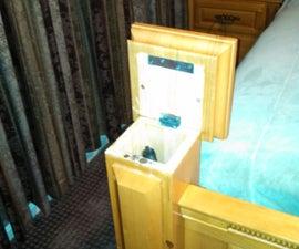 Hollow Bed Post Gun Storage