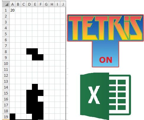 Tetris on Excel