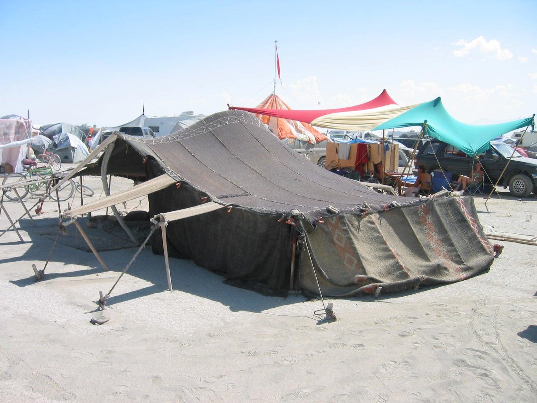 Traditional Desert Shelter