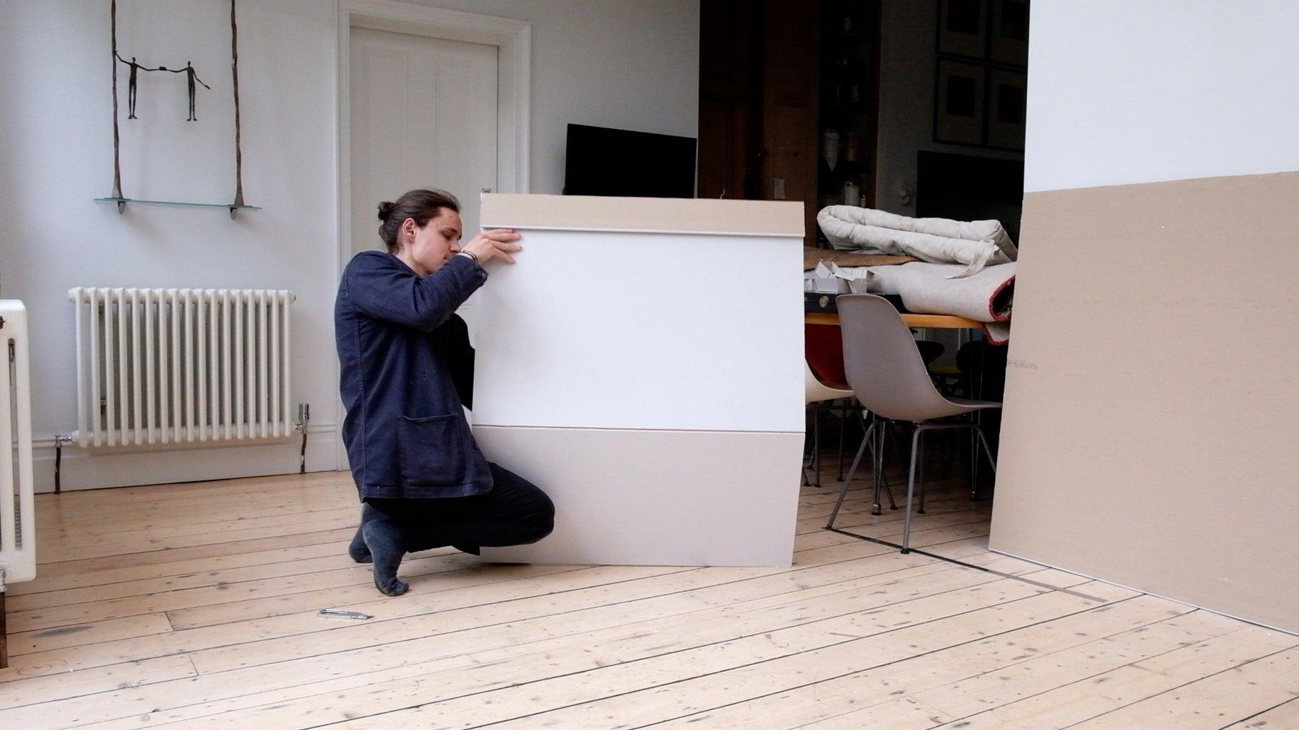 Break Down Drywall Sheet: Snap + Cut