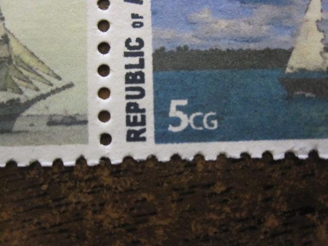 DIY Postage Stamp Perforations