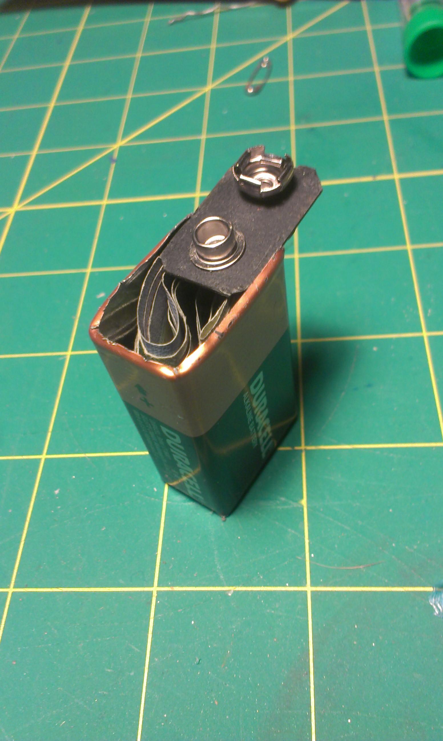 9 Volt Battery Secret Compartment