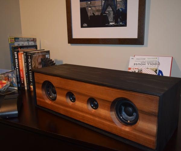 DIY Stereo Bluetooth Speaker (2x30W)
