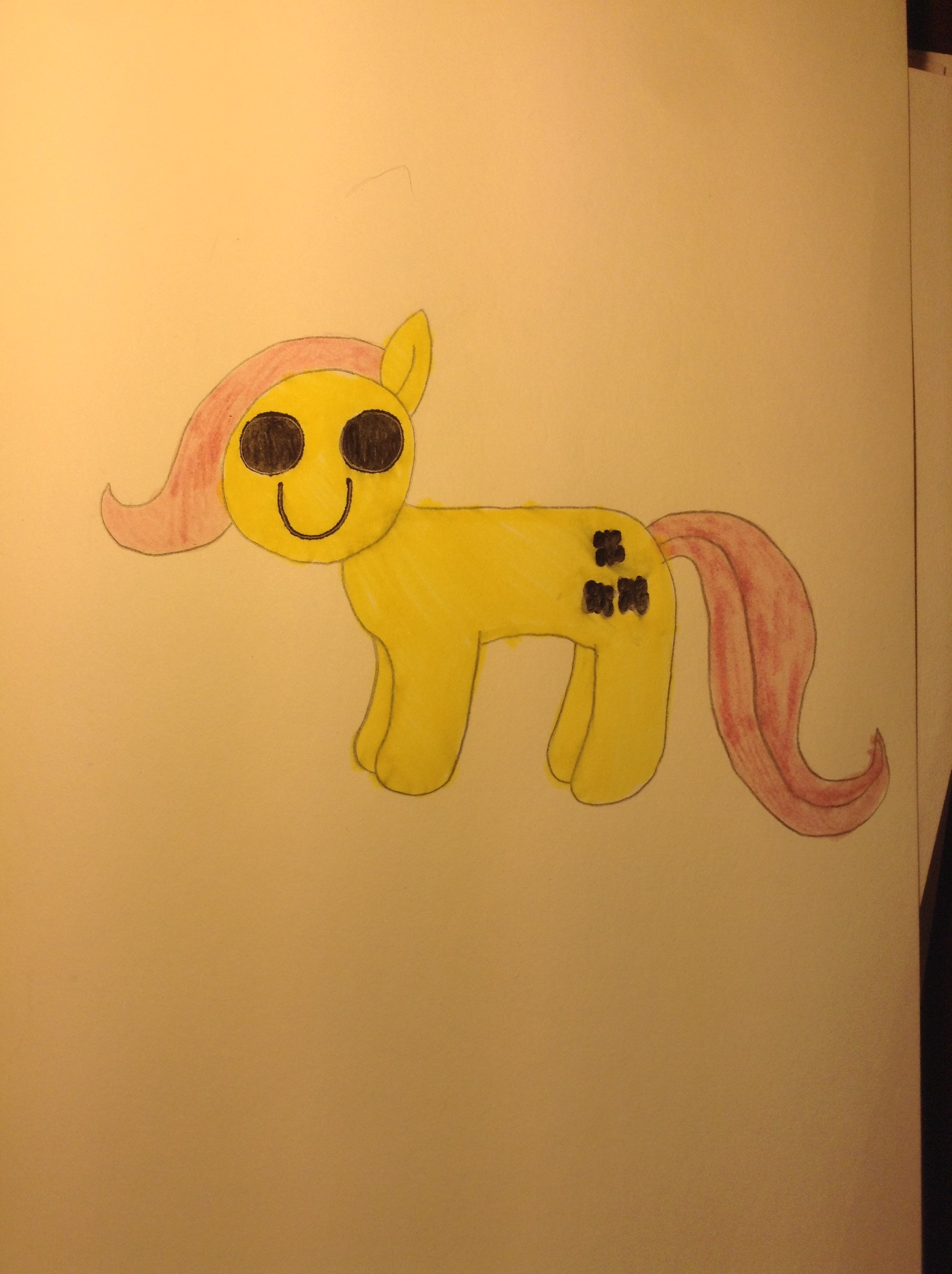 How To Draw Creepy Fluttershy