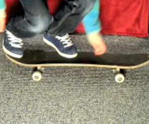 Skateboard Trick: Kickflip