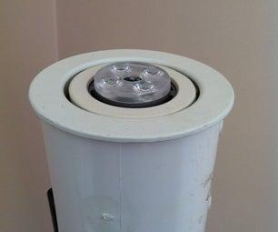 Solar Powered Floor Lamp
