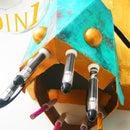 Rusted Copper Angler Fish (Desk Organiser)