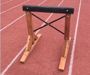 Portable Steeplechase Practice Barrier