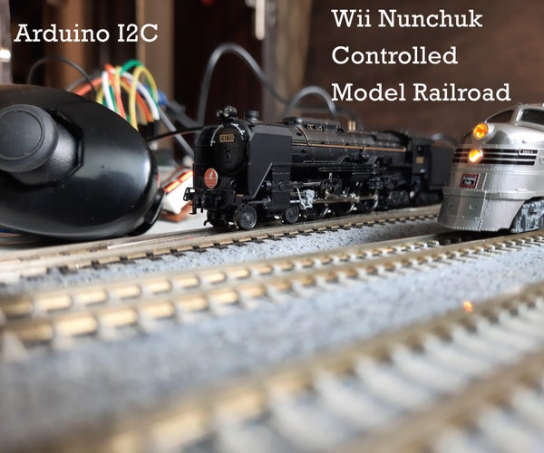 Control Your Model Railroad With a Wii Nunchuk