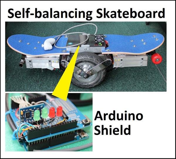 Self-balancing Skateboard/segw*y Project Arduino Shield