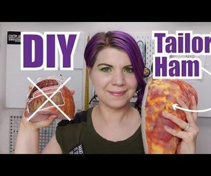 DIY Tailor's Ham Sewing Pressing Tool