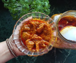 Curry-style Lemon Pickles in a Jar (ft. the Easiest Preserving Method)
