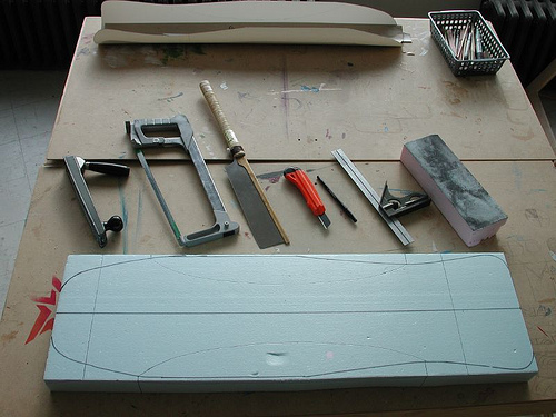 How to Shape a Foam Mold for Building Skateboards