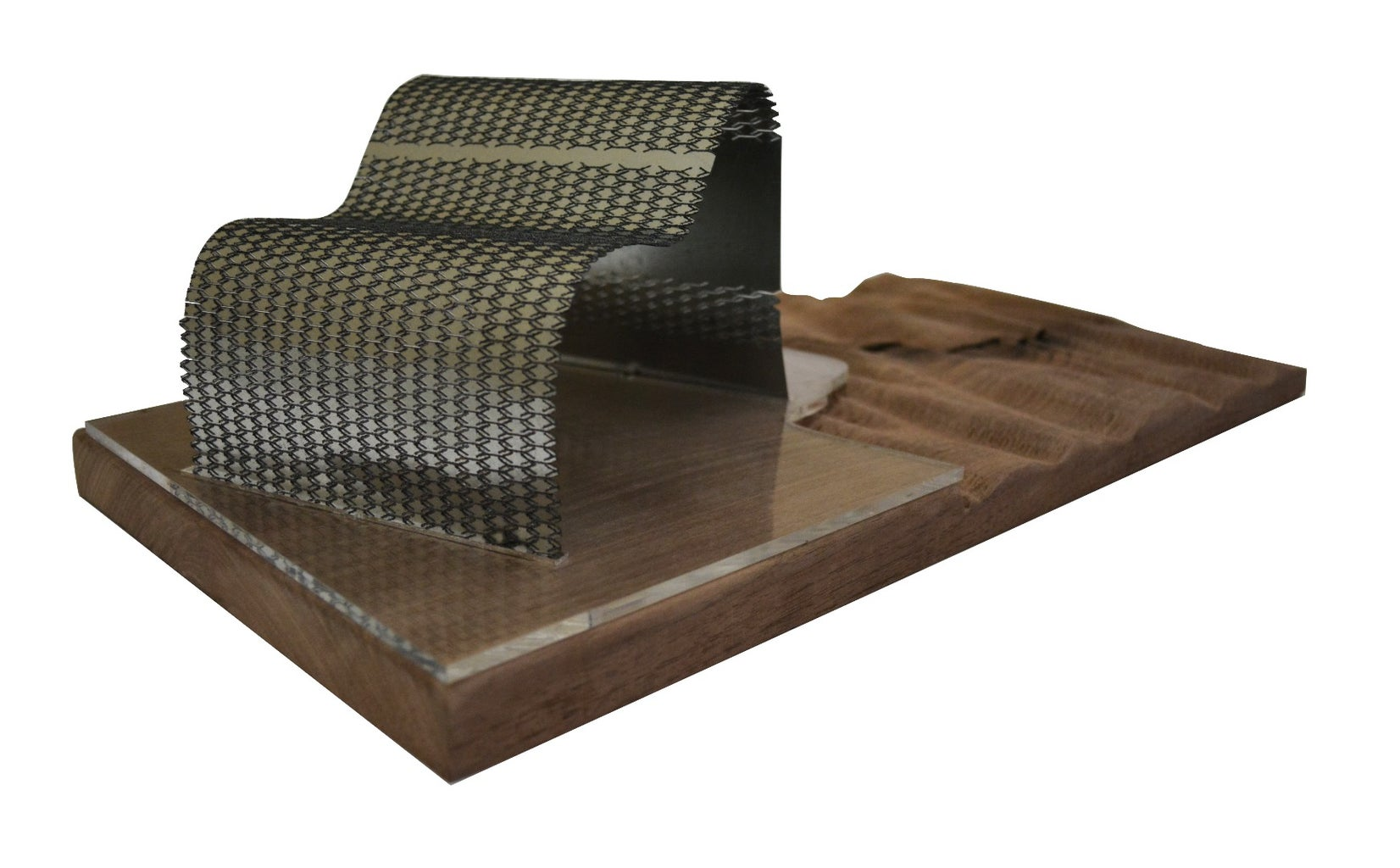 Metal Laser Cutting (Visible Void Pavilion)