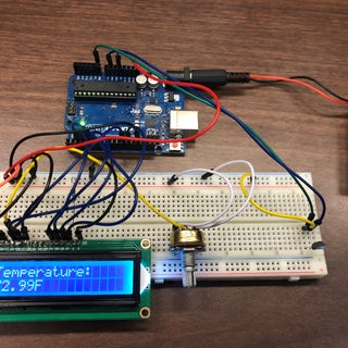Arduino Thermometer (LM35 + LCD)