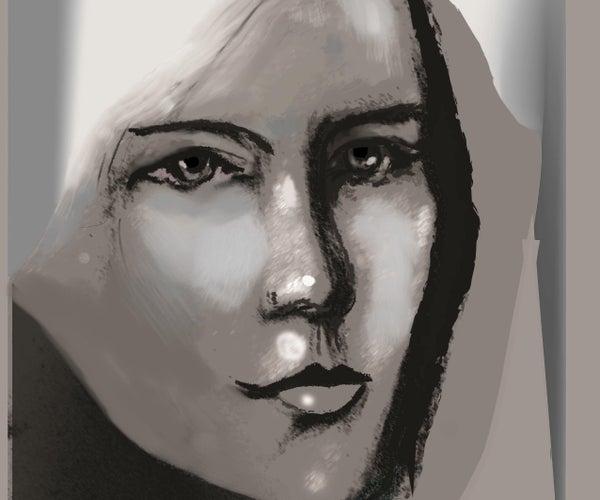 Portret in Illustrator