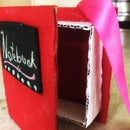 Cardboard Book With a Secret Compartment
