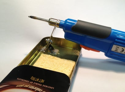 Soldering Iron Stand - in James Bond's Pocket