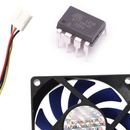 Arduino ATtiny Fan or Any DC Motor  PWM Speed Controller