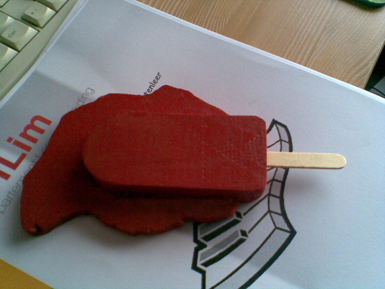 April Fools Joke: Melting Popsicle Paperweight