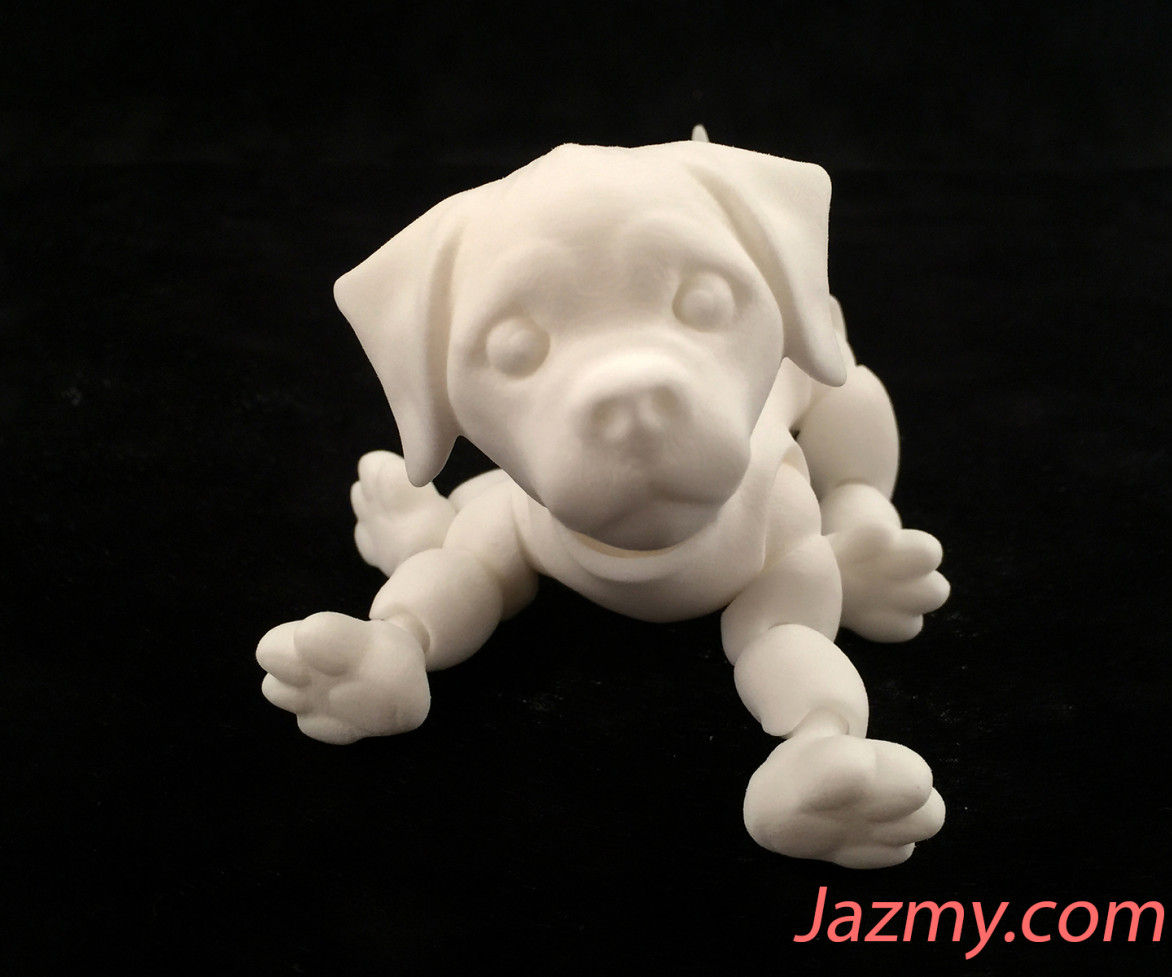 3D Jointed Puppy Dog