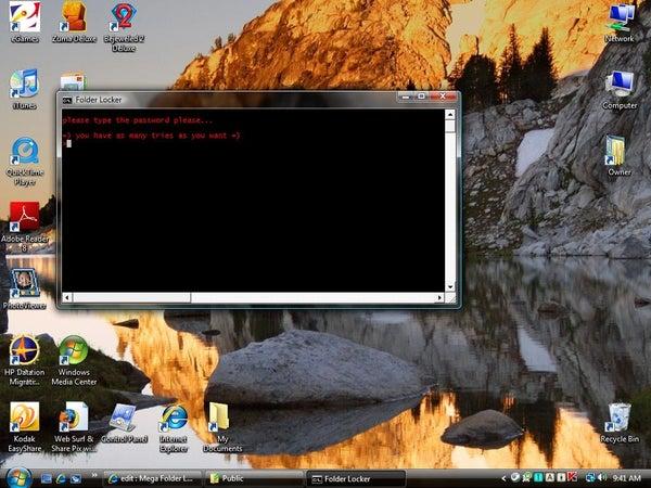 Mega Folder Locker