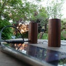 Upcycled Wooden Mini Speakers