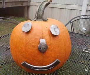 Blacksmithed Pumpkin Face