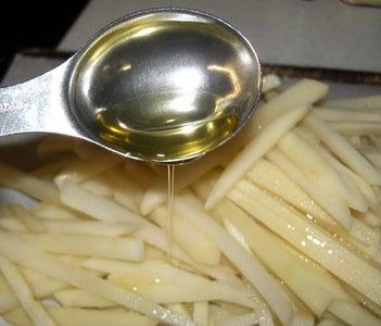 "EASY Crispy Baked ""French Fries"""