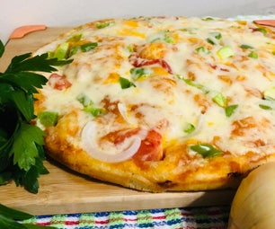 Healthy and Fluffy Pan Pizza