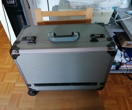 Convert Old Toolcase to Mobile Electronics Workstation