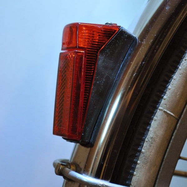 Retro Bike Taillight Upgrade - Incandescent to LED Conversion (With Magnetic Switch)