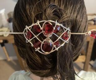 Scarlet Hair Pin