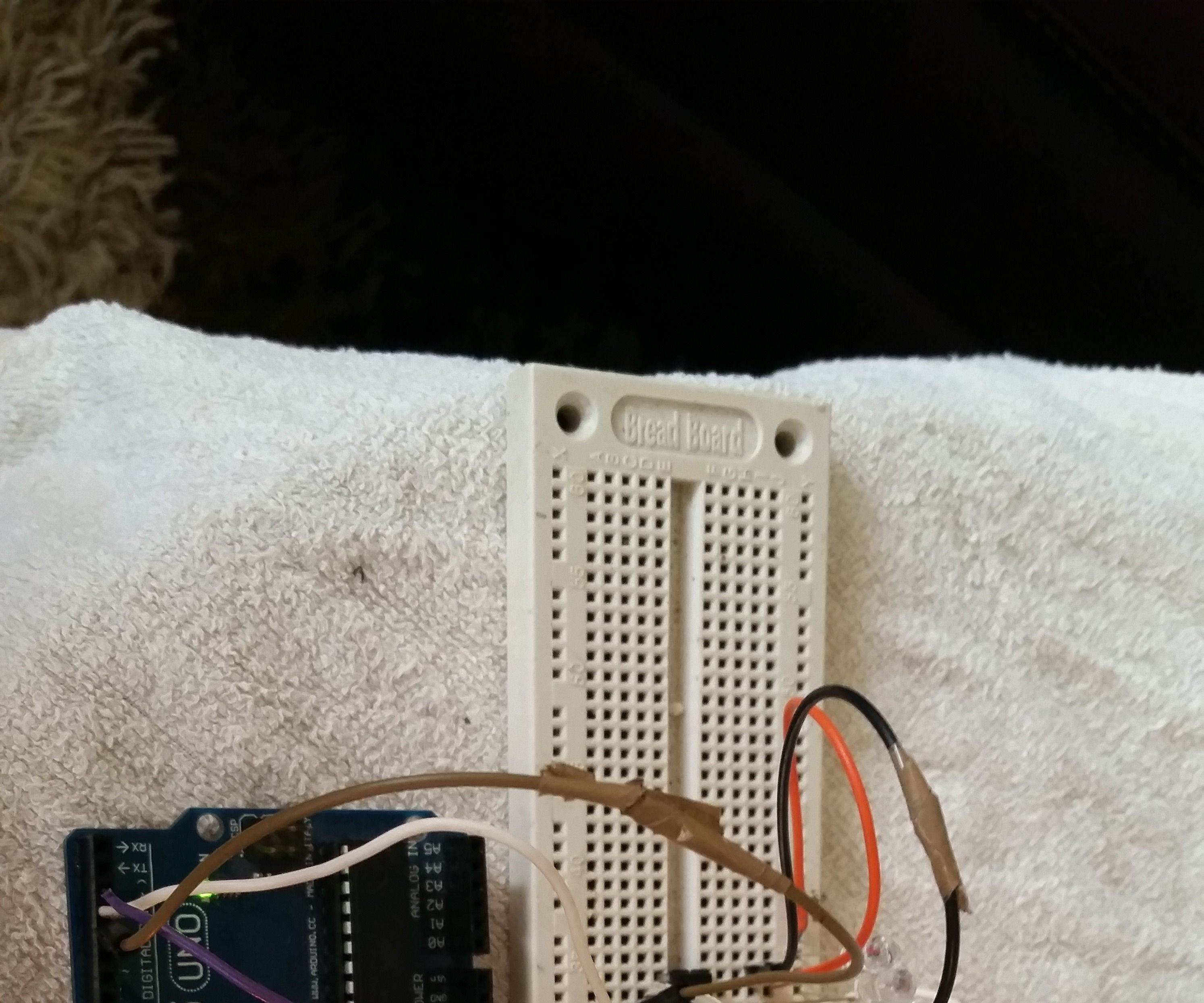 Arduino and shift register