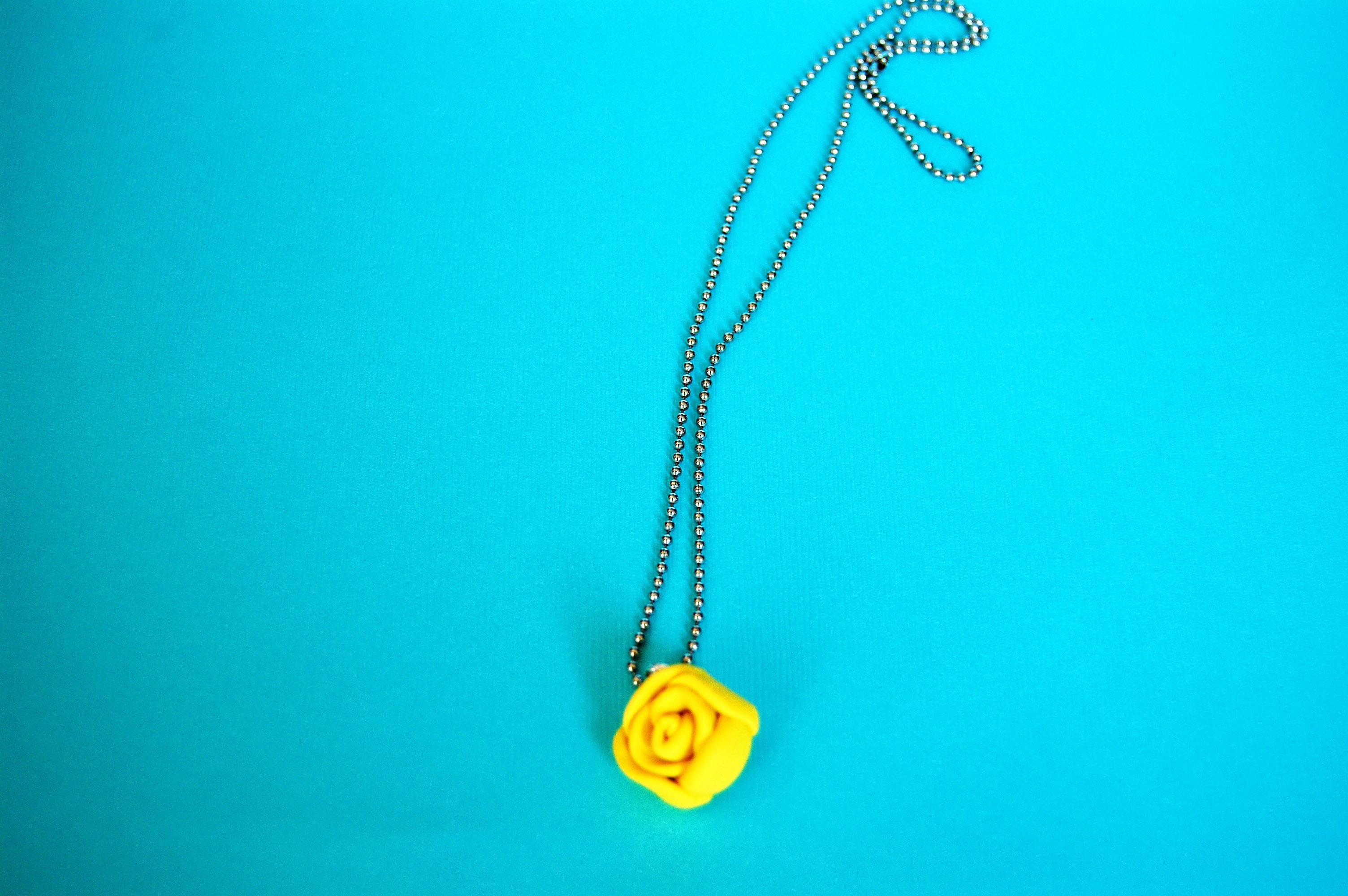 DIY Polymer Clay Necklace
