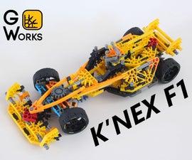 K'NEX F1 Race Car