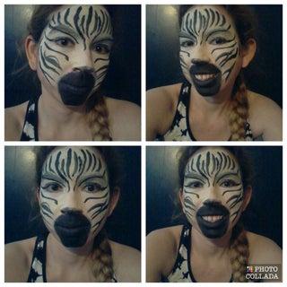 Crazy Zebra Costume