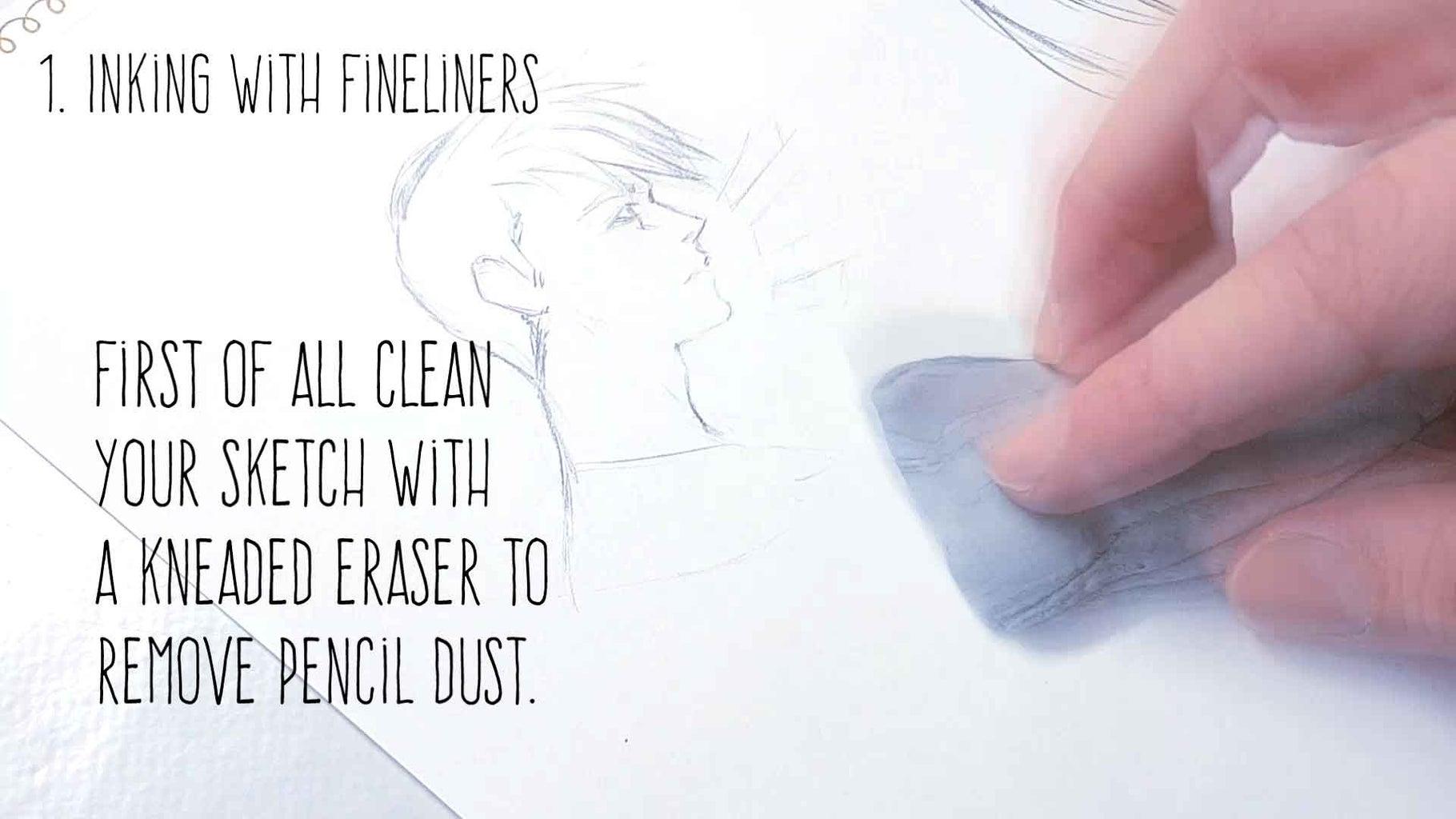 1) Fineliners
