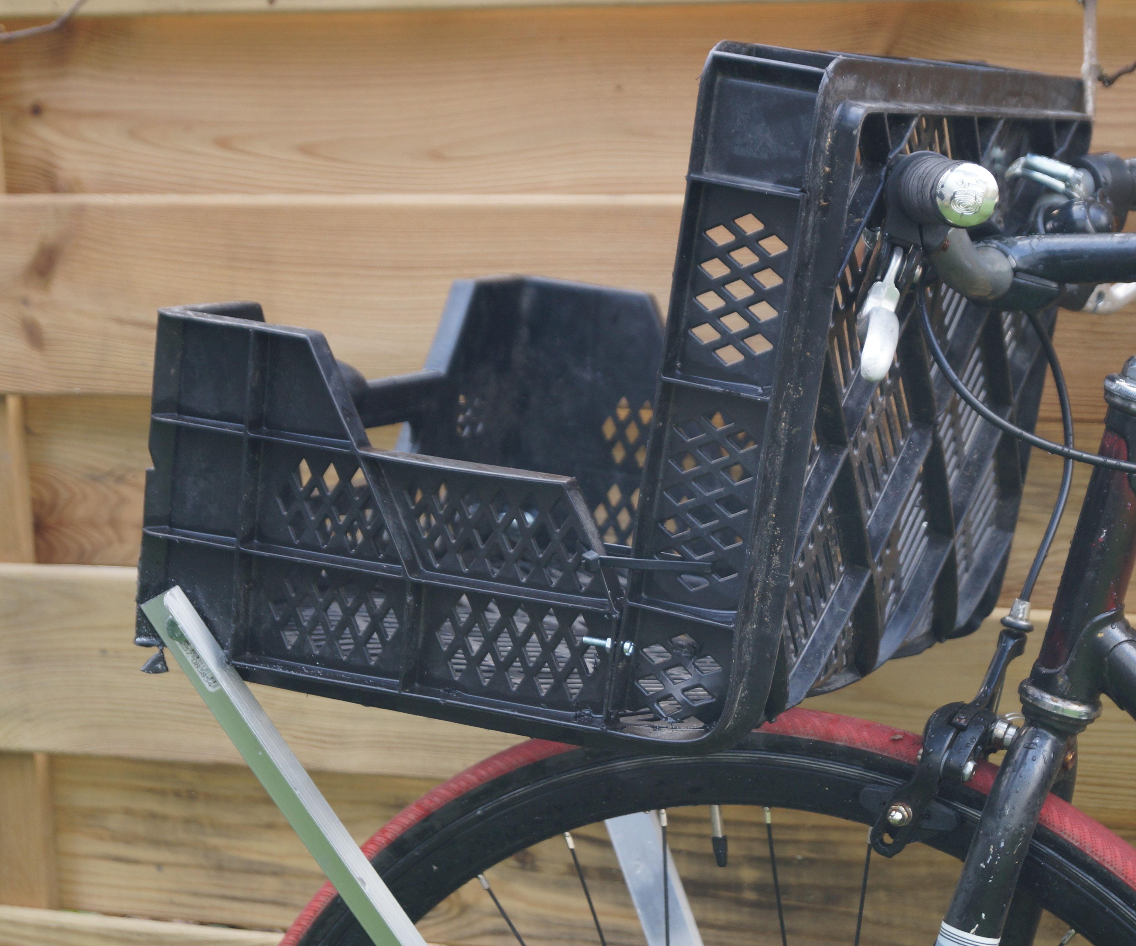 DIY Cargo Bike (Front Rack)