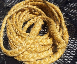 Rope From Bale Twine Waste