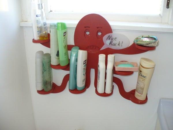 Helpful Bathroom Octopus