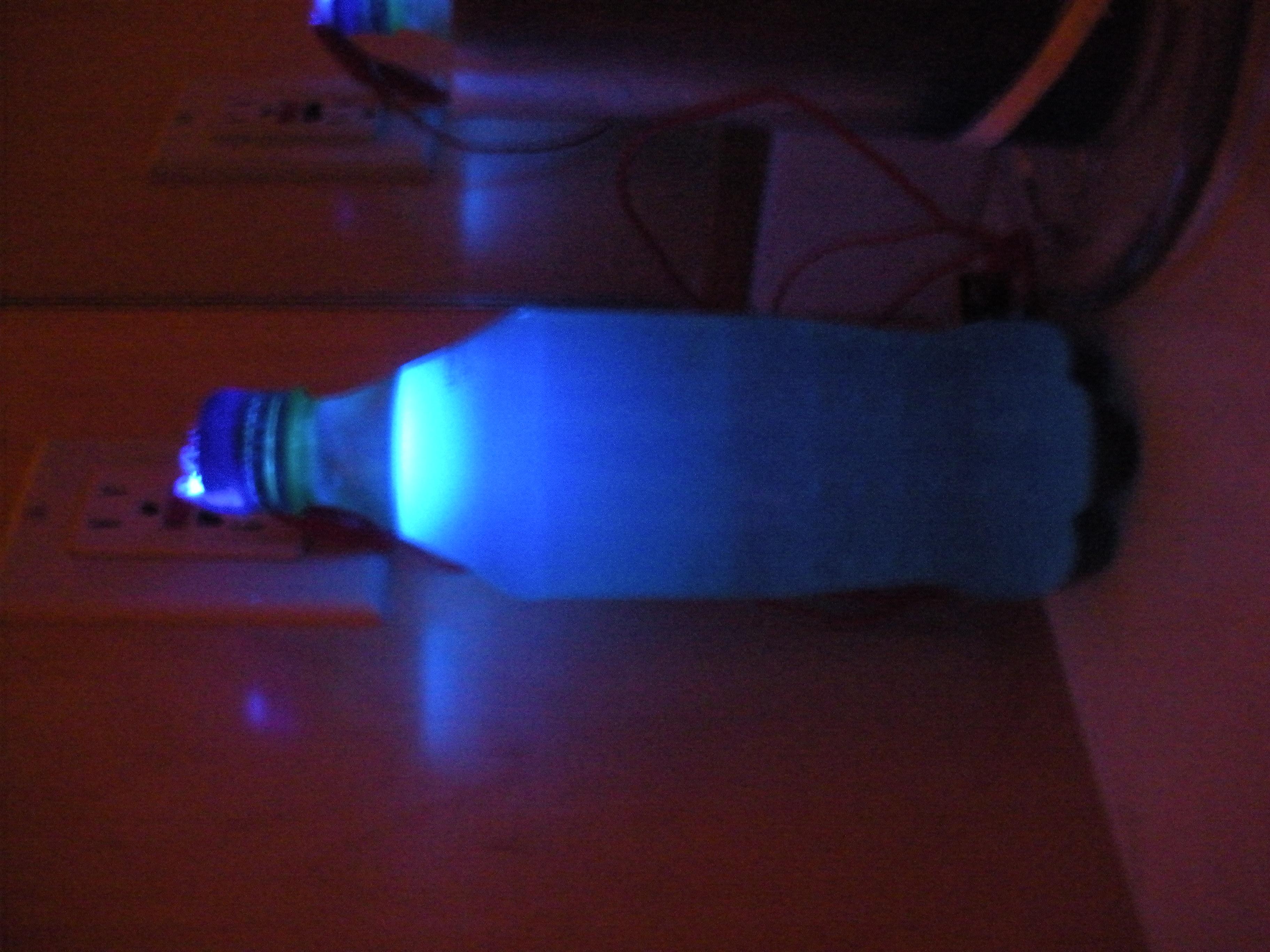 Sprite Bottle Lamp