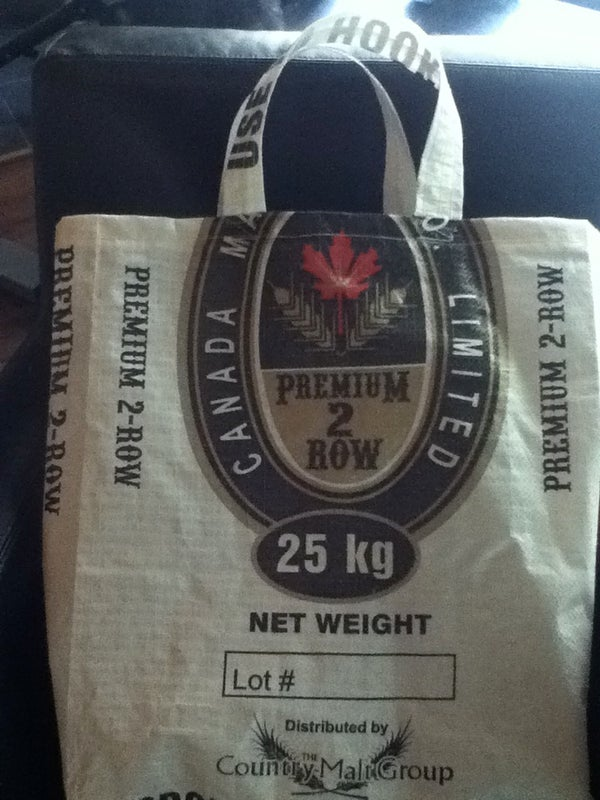 Make a Tote Bag From a Discarded Grain Bag